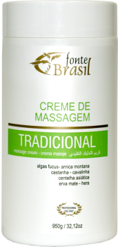 Creme de Massagem Tradicional 950g  - Fonte Brasil Cosméticos