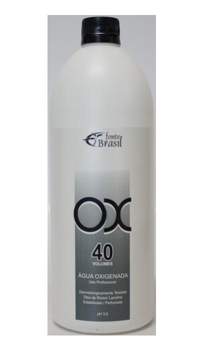 Água Oxigenada 40 volumes 900ml  - Fonte Brasil Cosméticos