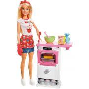 Barbie Cozinhar e Criar Chefe de Bolinhos