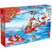 Blocos de Montar Helicóptero de Resgate 150 Peças – Banbao