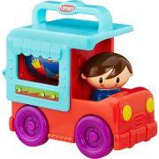 Caminhão Temático Azul Playskool Hasbro