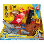 Imaginext Navio Pirata Tubarão