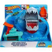 Pista Hot Wheels City Robô Tubarão