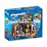 Playmobil Meu Esconderijo Secreto Dos Cavaleiros com Tesouro 6156 - Sunny