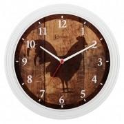Relógio de Parede Branco Fosco Herweg - 660008-132