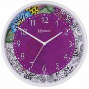 Relógio de Parede Quartz FLORAL Herweg