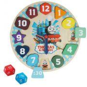 Thomas e Seus Amigos Aprendendo e Encaixando Horas Fun Brinquedos
