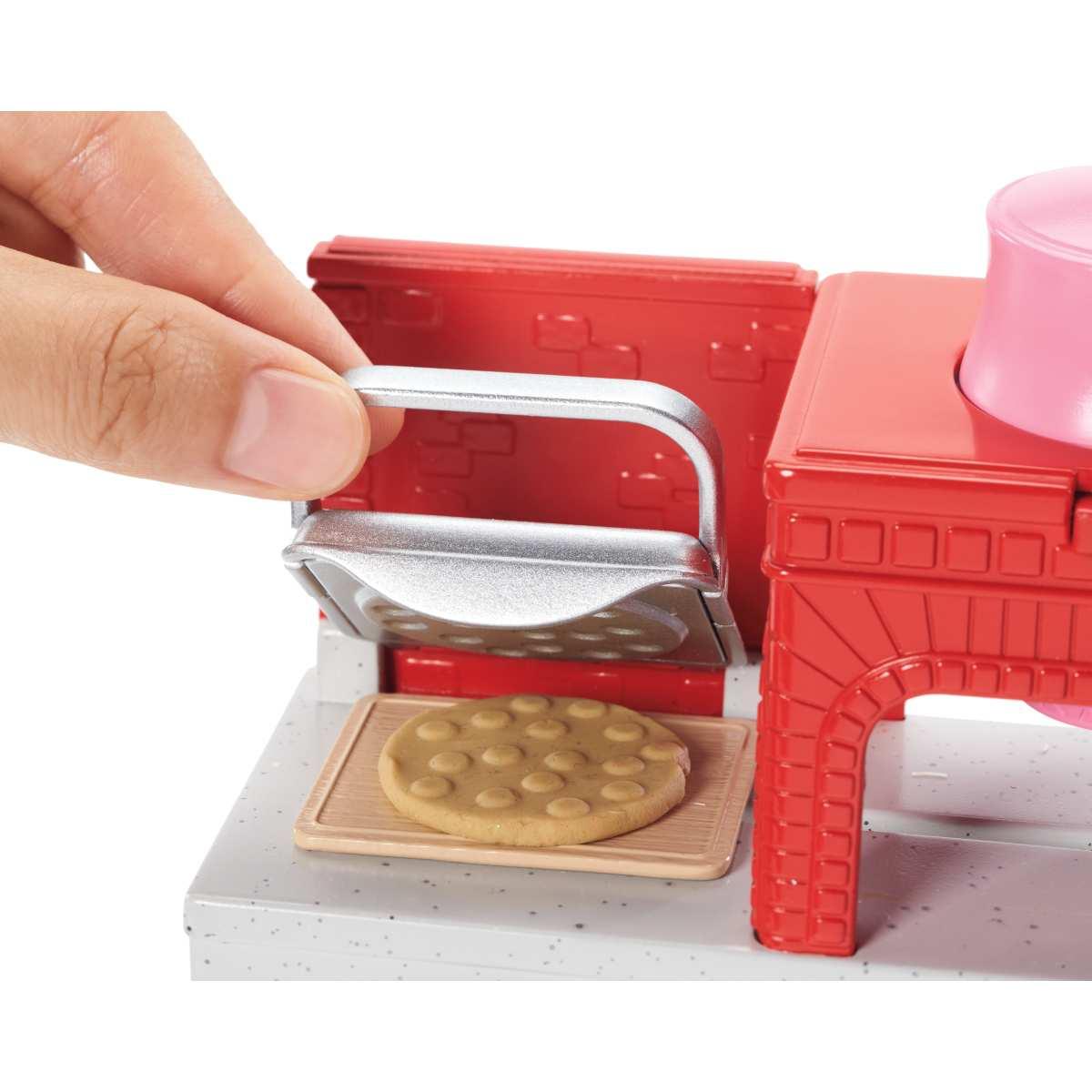 Barbie Cozinhar e Criar Pizzaiola