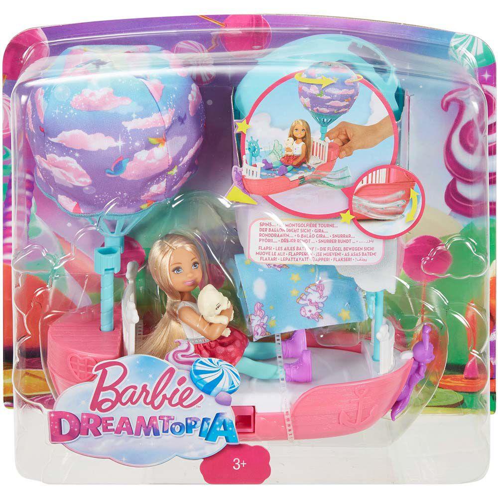 Barbie Fan Chelsea Barco dos Sonhos