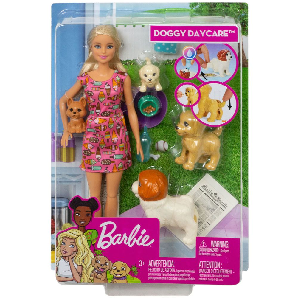 Barbie Treinadora De Cachorrinhos