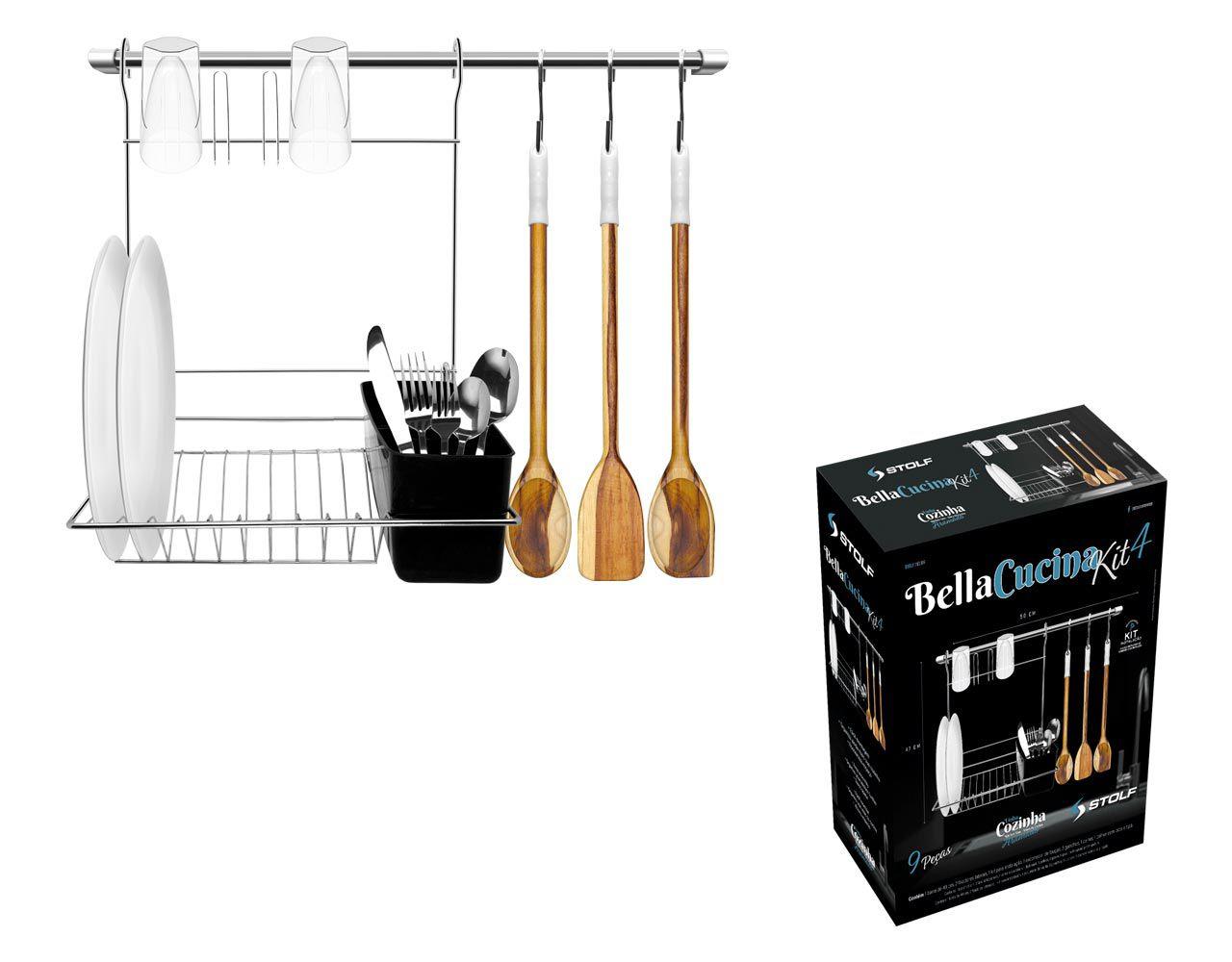 Bella Cucina Kit 4 Stolf