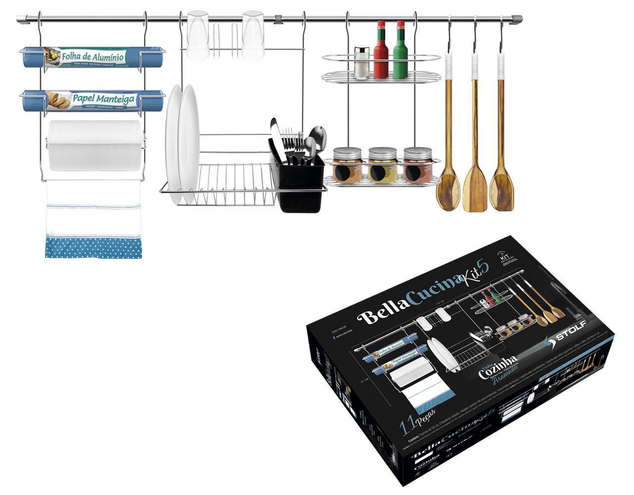 Bella Cucina Kit 5 Stolf