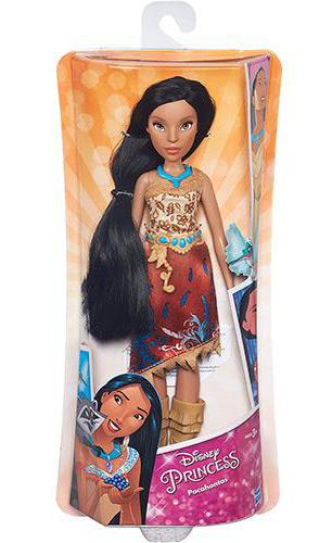 Boneca Disney Princesas Clássica POCAHONTAS Hasbro