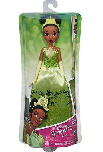 Boneca Disney Princesas Clássica TIANA Hasbro