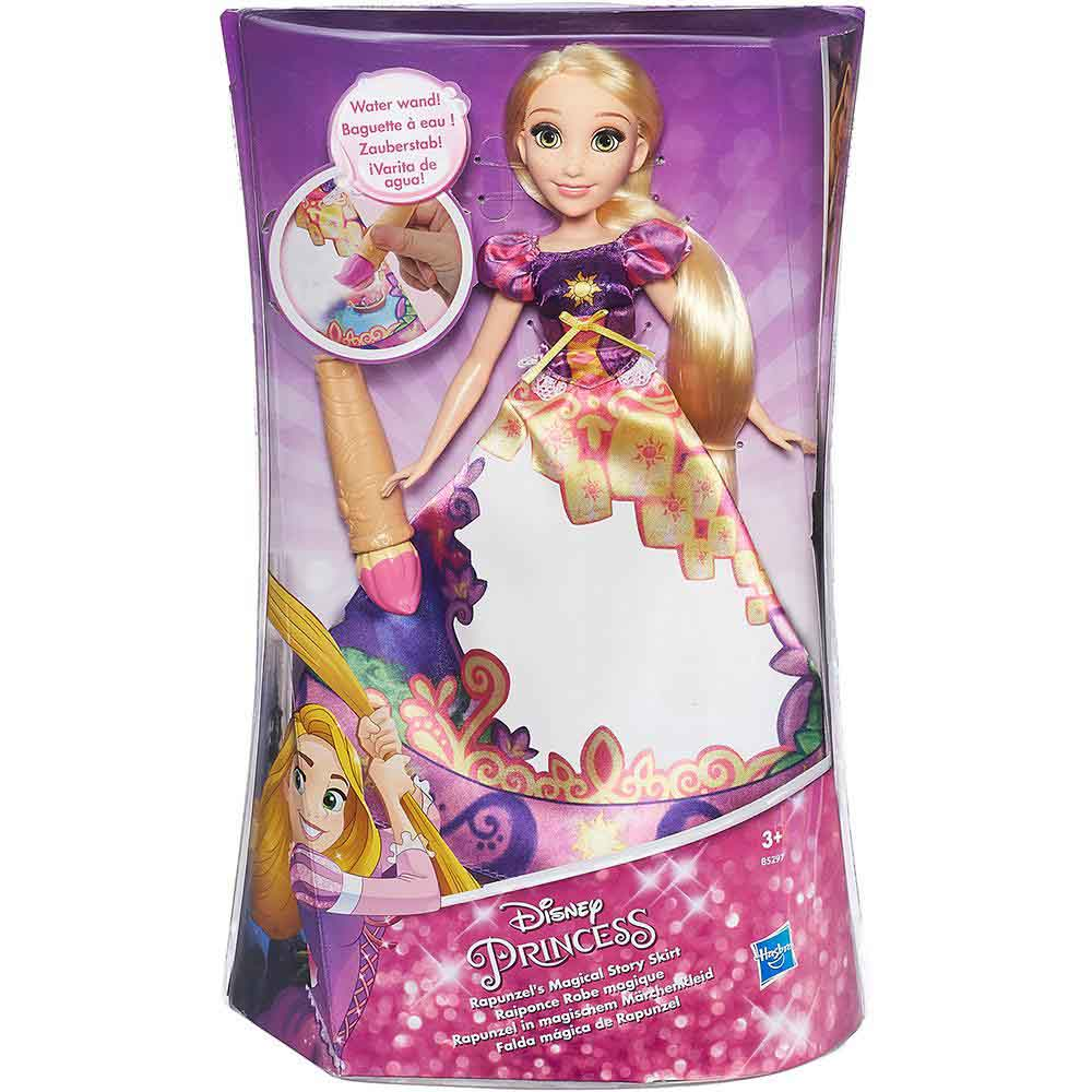 Boneca Disney Princesas Vestido Mágico Rapunzel - Hasbro