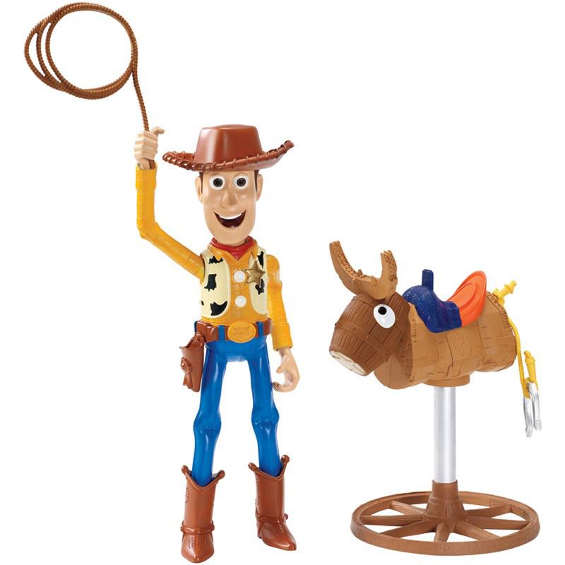 Boneco Cowboy Woody Vaqueiro de Rodeio com Som e Movimento Toy Story – CLX49 Mattel