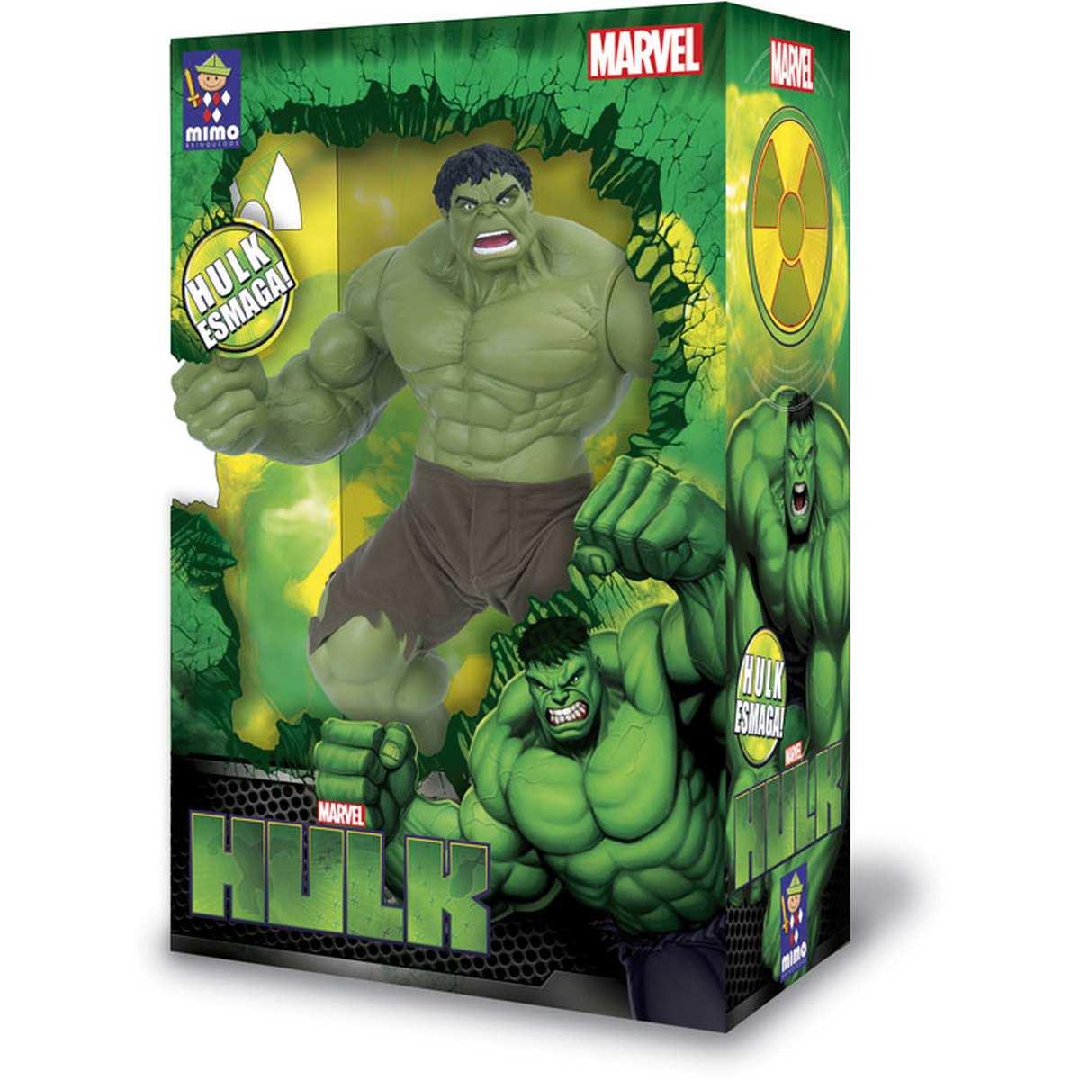 Boneco Hulk Verde Premium Gigante 55cm - Mimo
