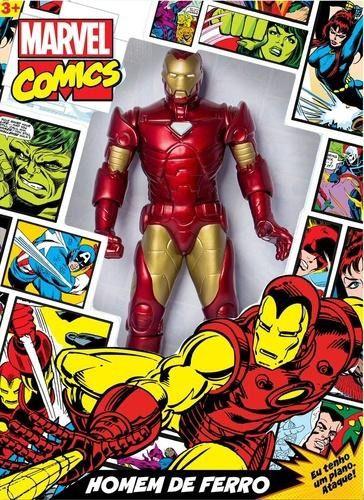 Boneco Homem de Ferro Comics 50 cm - MIMO