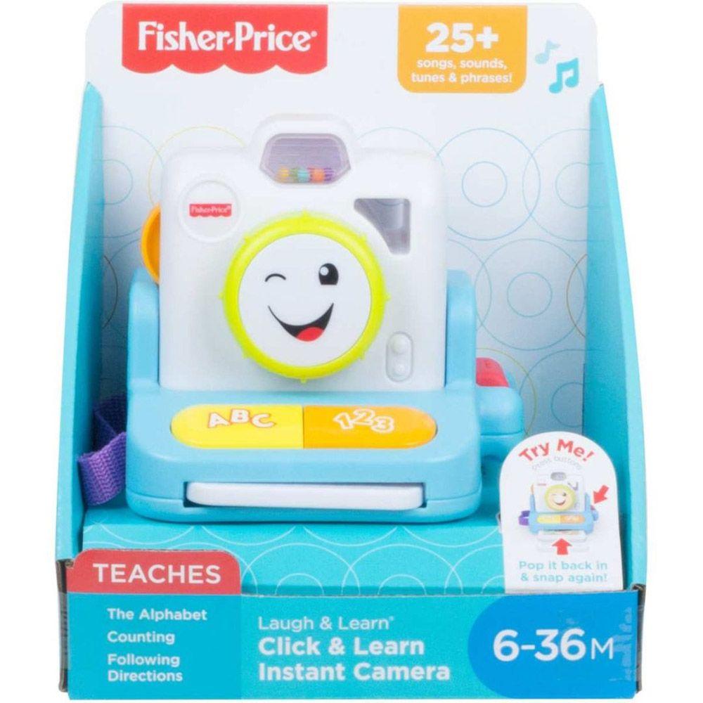 Câmera Sorrisos E Aprendizagem - Fisher-Price