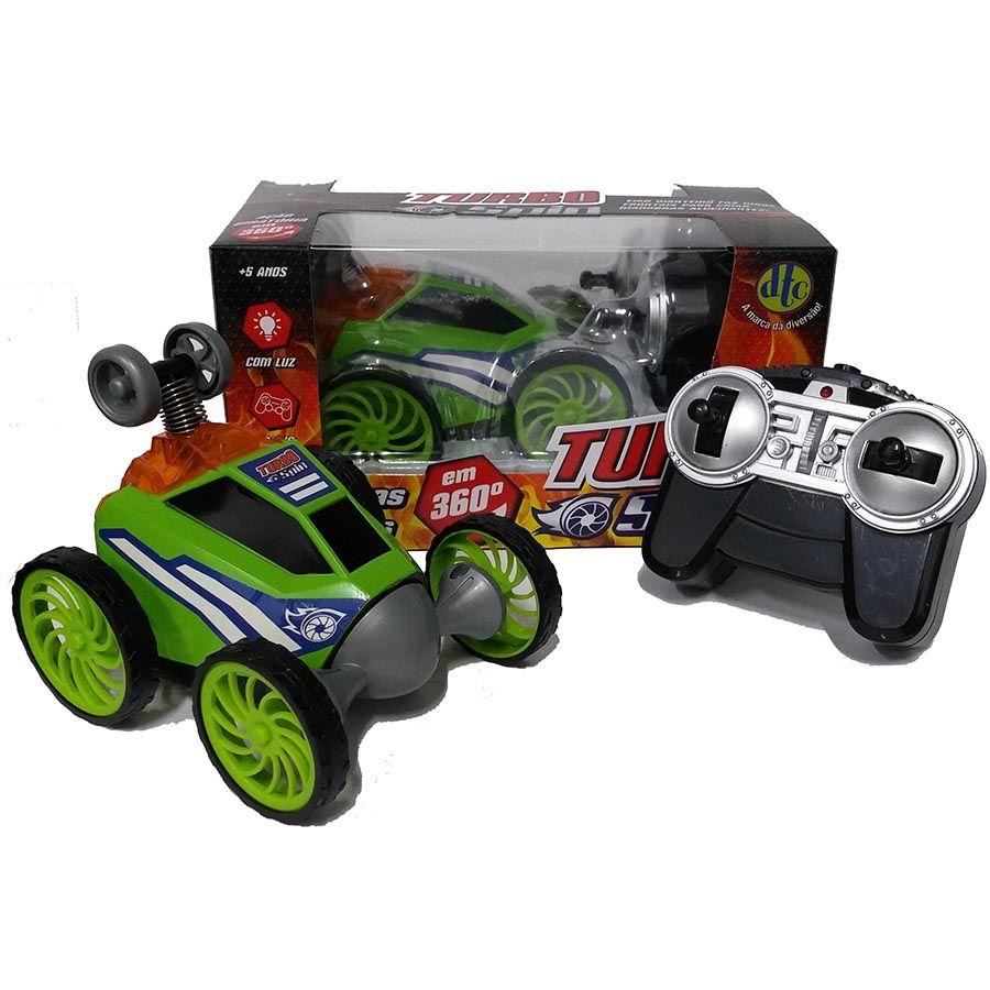 Carrinho Com Controle Remoto Turbo Spin DTC