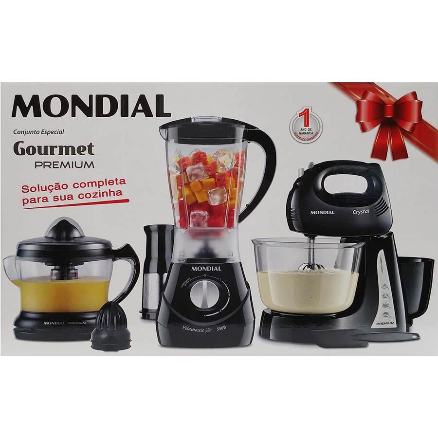 Conjunto Especial Gourmet Premium KT-52 Mondial - 220V