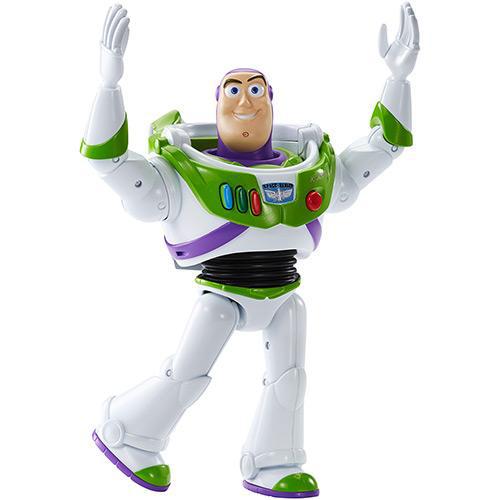 Figura com Som Toy Story BUZZ LIGHTYER Disney Mattel