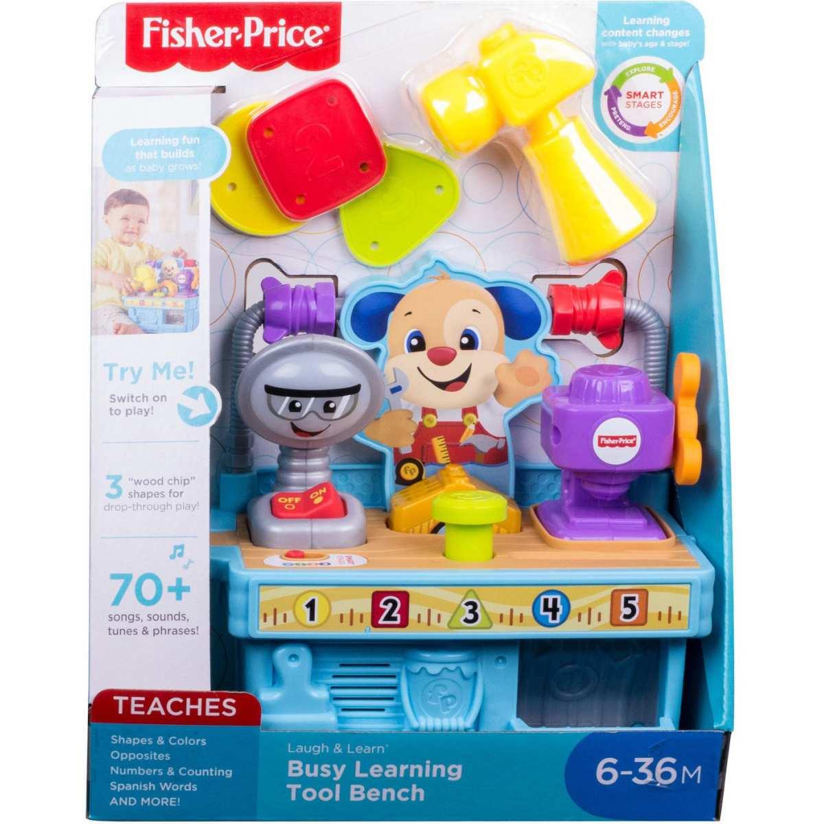 Caixa Ferramentas Cachorrinho Fisher-Price