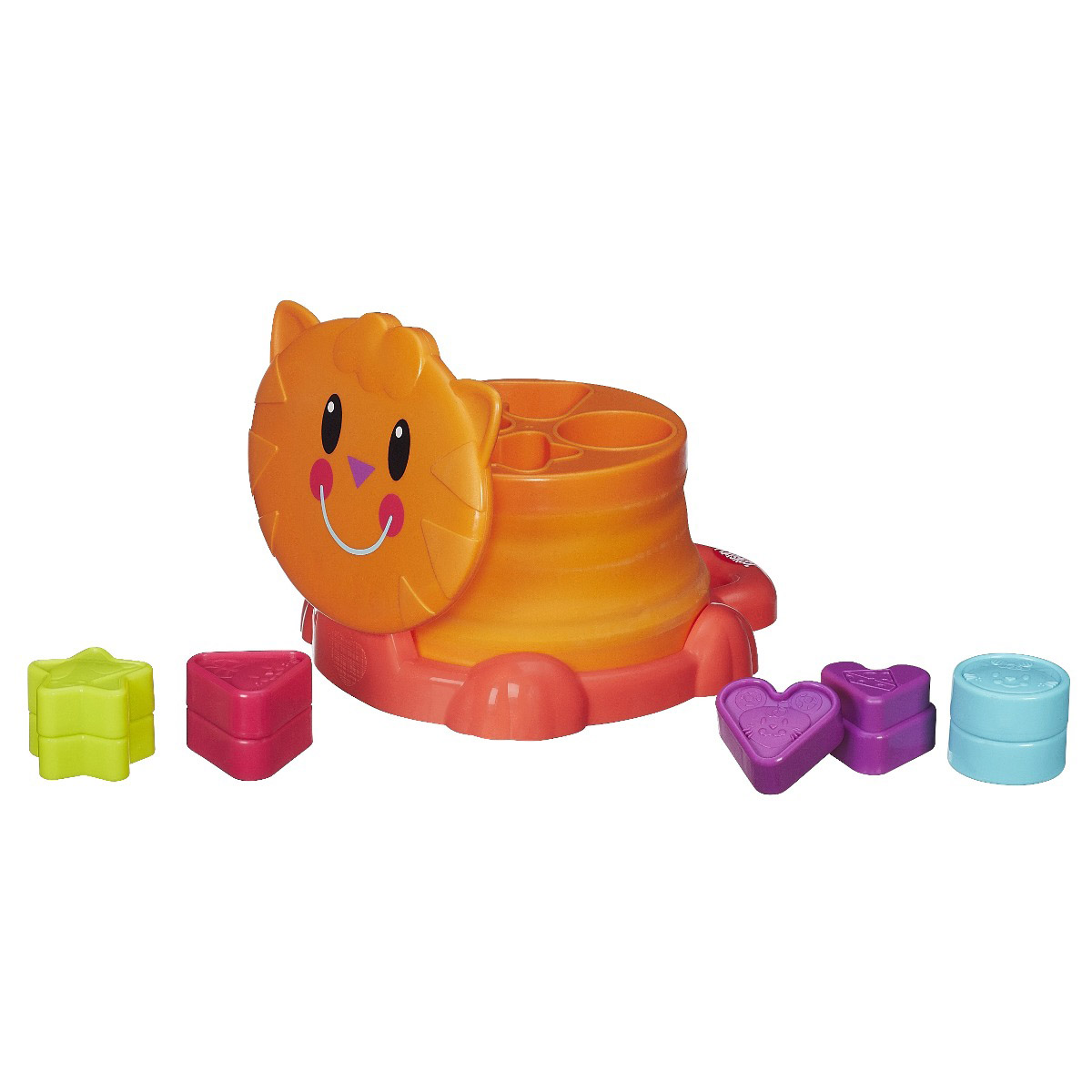 Gatinho com Formas Playskool Hasbro