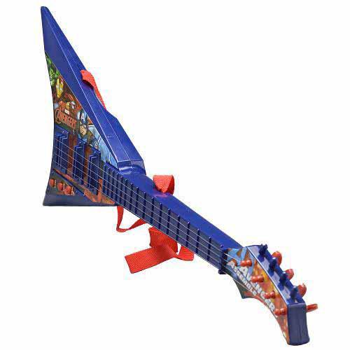 Guitarra Musical Infantil Os Vingadores - Toyng