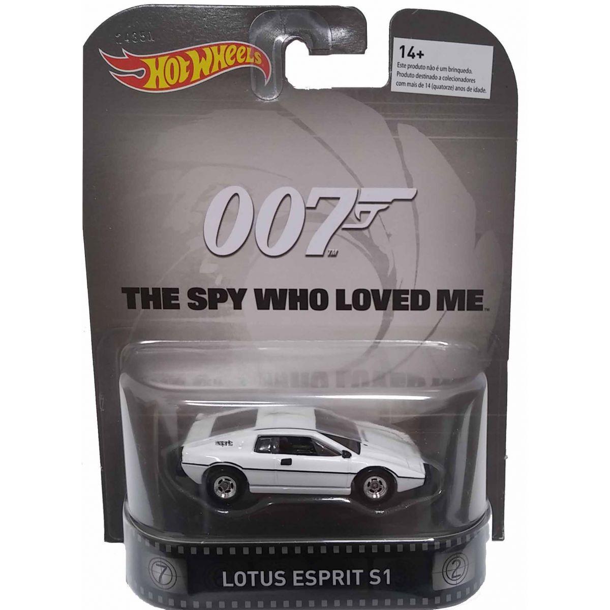 Hot Wheels Especial Colecionador – Lotus Esprit S1 do Filme 007 - O Espião que me amava.