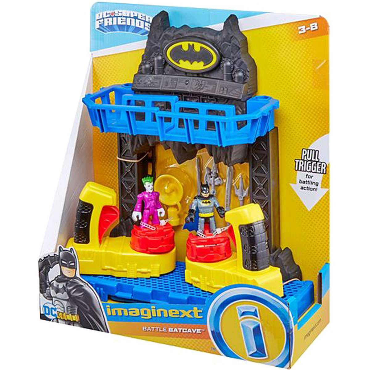 Imaginext Batalha Na Batcaverna