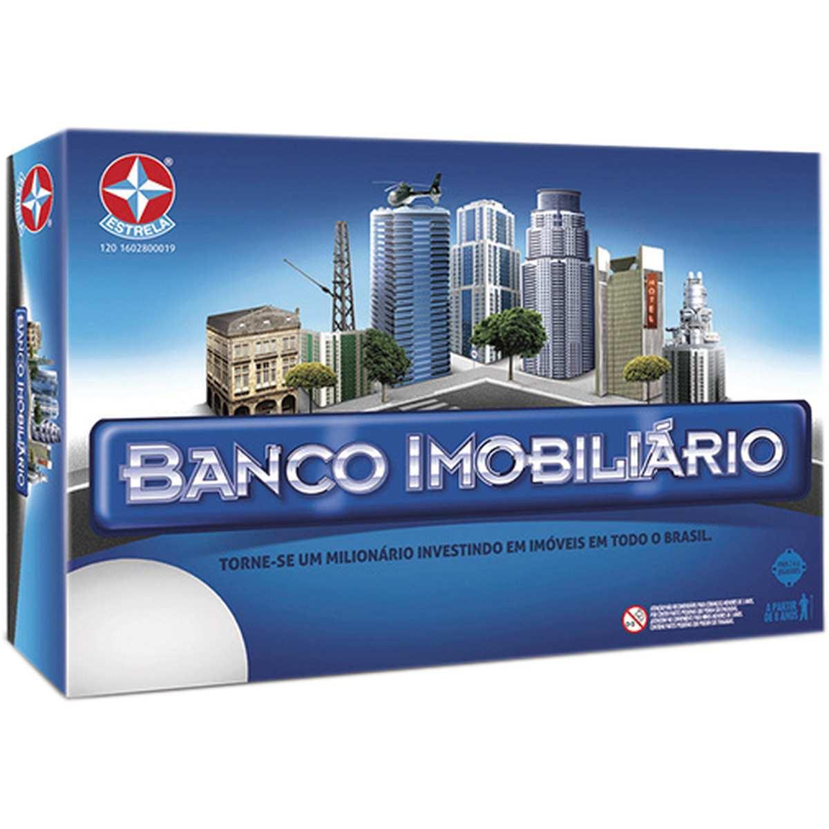 Jogo Banco Imobiliário Grande - Estrela