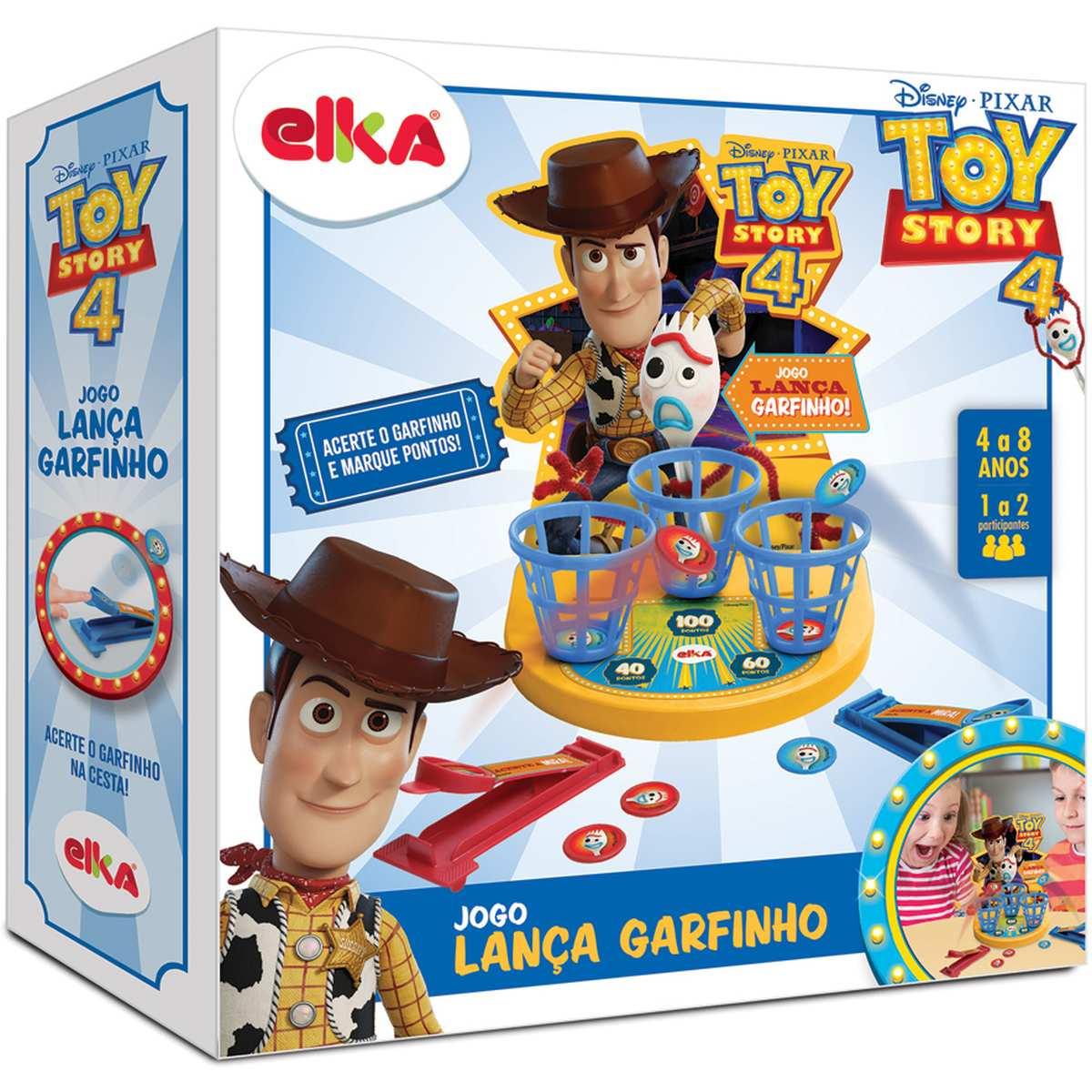 Jogo Lança Garfinho Toy Story 4 - Elka