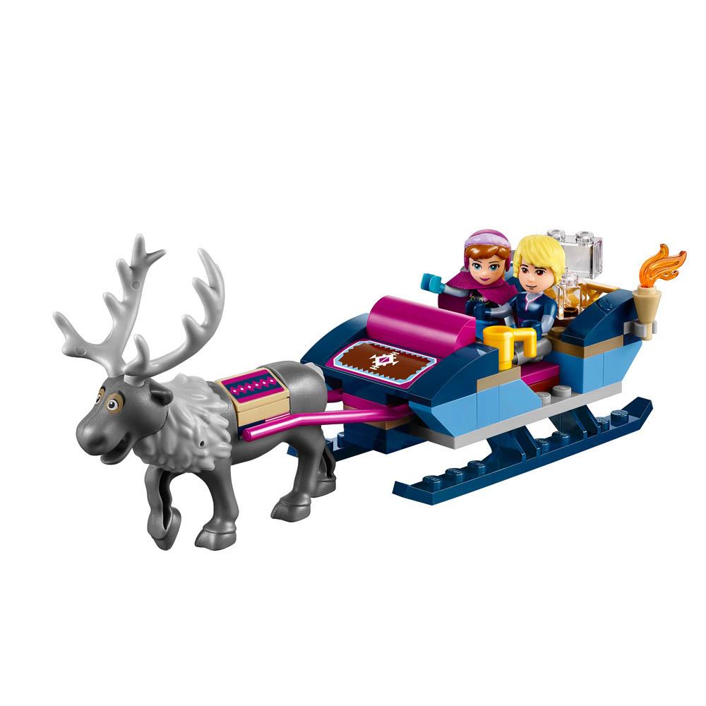 LEGO A AVENTURA DE TRENO DE ANNA E KRISTOFF 41066