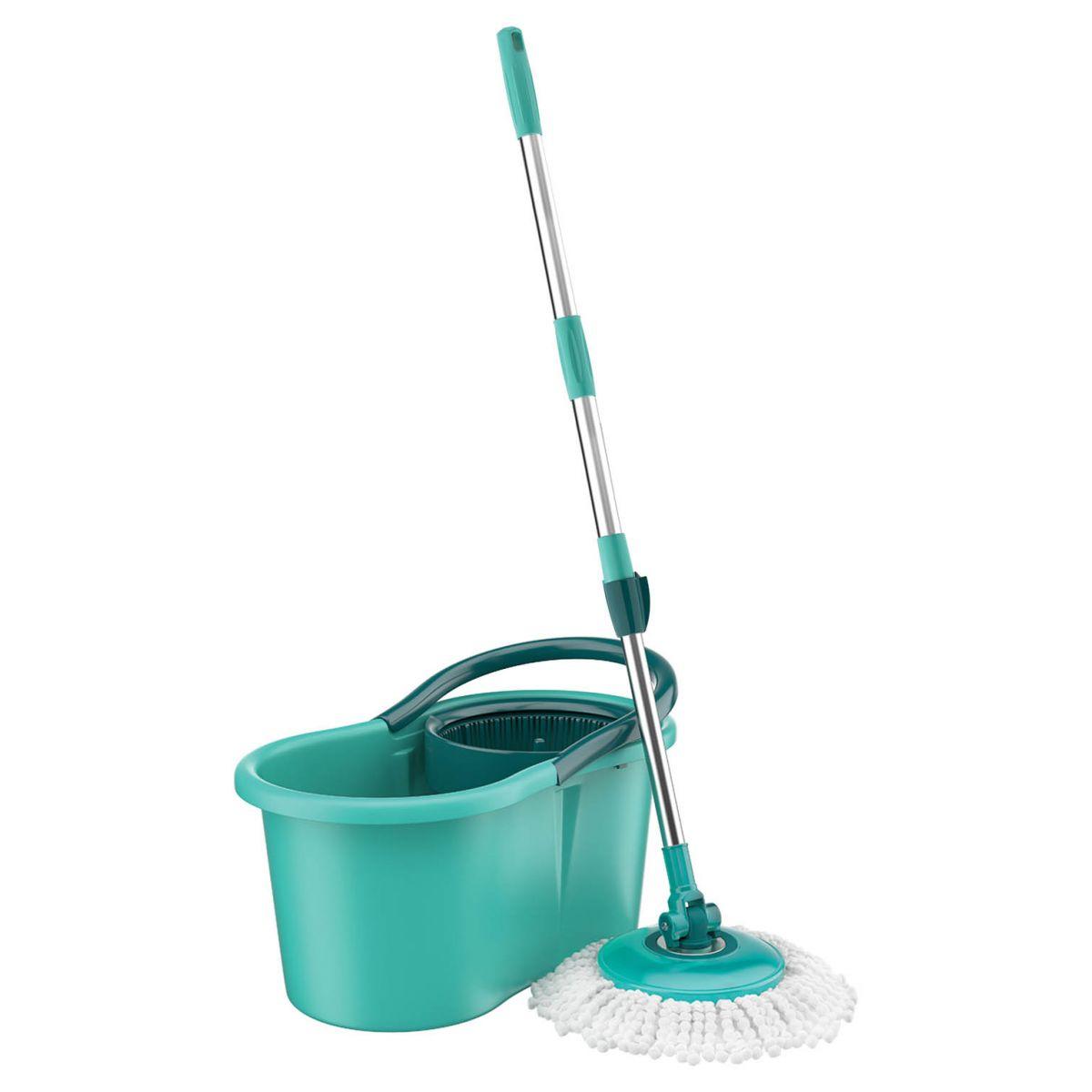 MOP Limpeza Giratório Verde Flash Limp