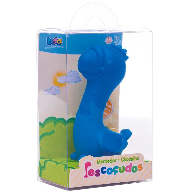 Mordedor Chocalho Pescoçudos Arara Azul Toyster