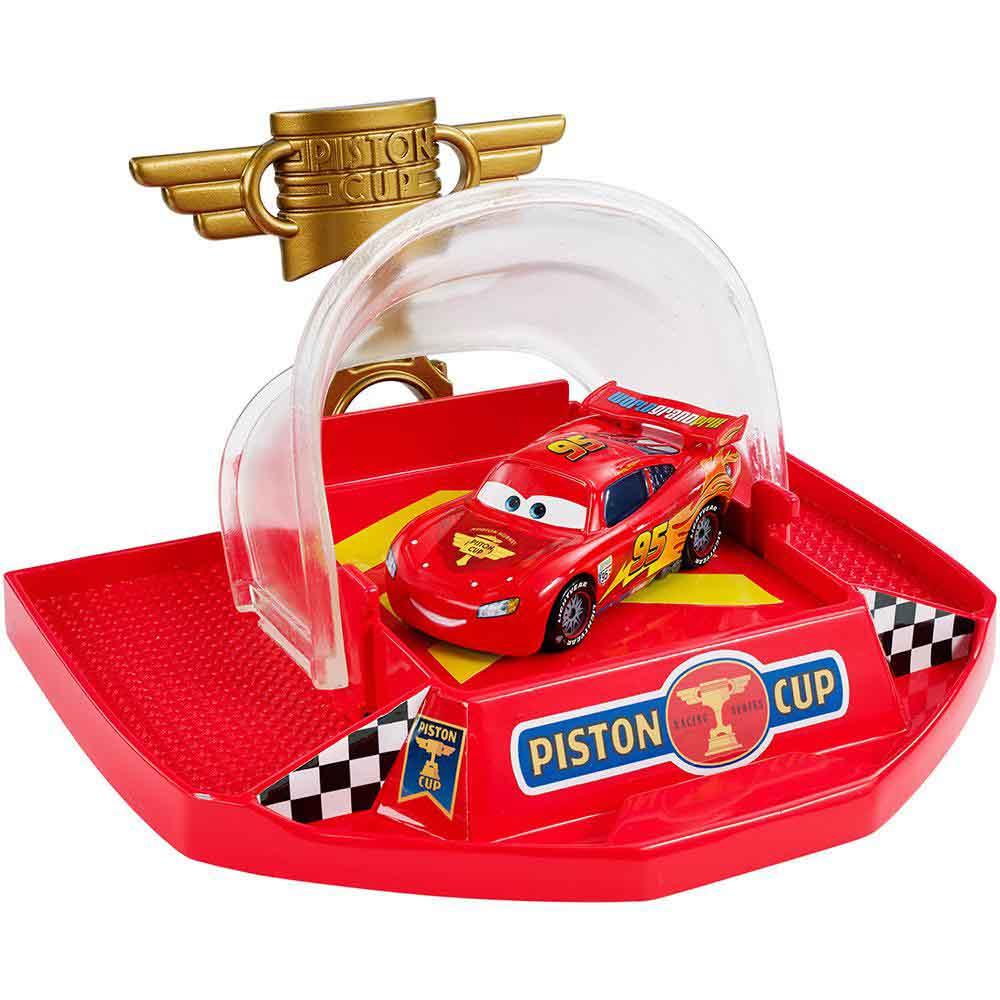 PISTA CARS PISTA SUPER LOOPING UNIDADE DJC57 - MATTEL