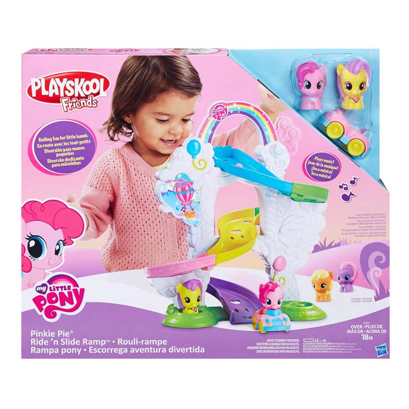 Playset Aventura Divertida My Little Pony Playskool Hasbro