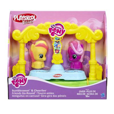 Playset Gira-Gira My Little Pony com 2 Figuras Playskool Hasbro