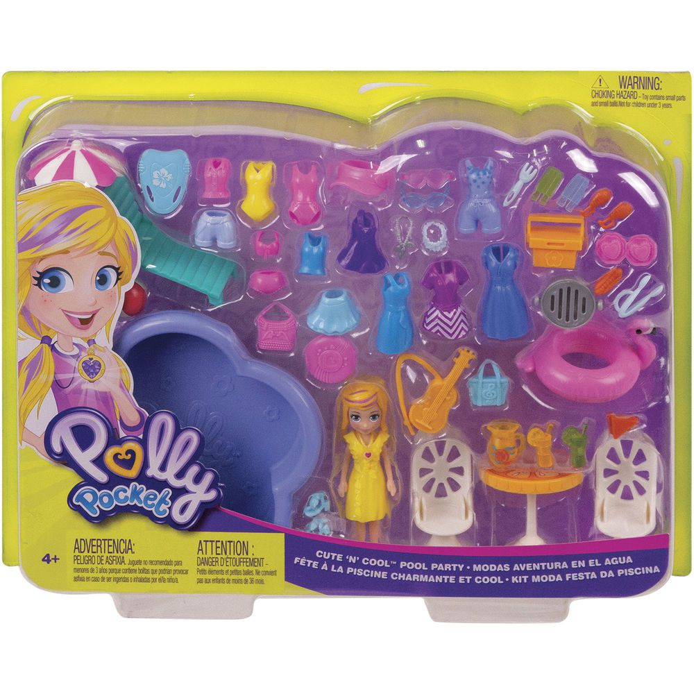 Polly Pocket Festa na Piscina