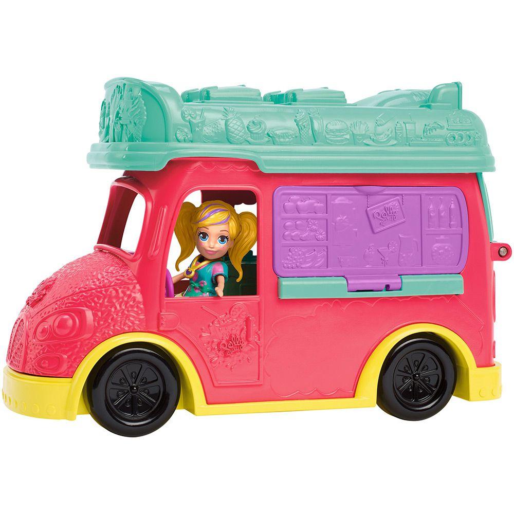 Polly Pocket Food Truck 2 em 1