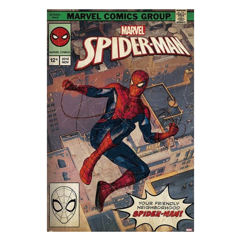 Quebra-cabeça Cartonado Spider Man 500 Peças - Toyster