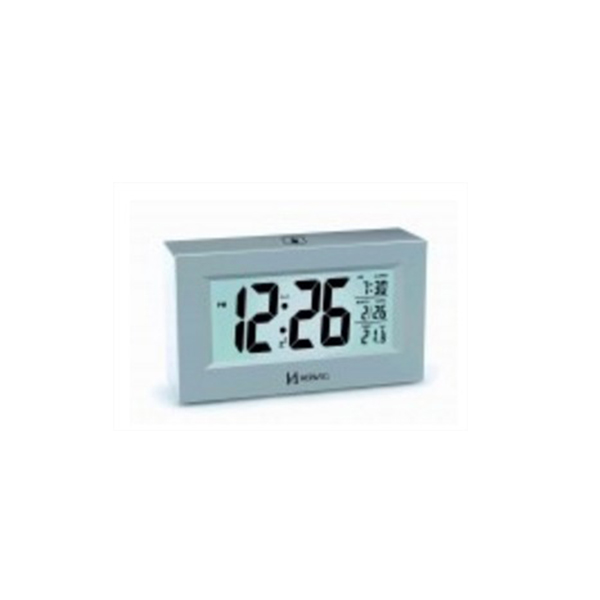 Relógio Despertador Digital Herweg 2972 – PRATA