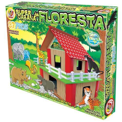 Super Cabana da Floresta - Junges