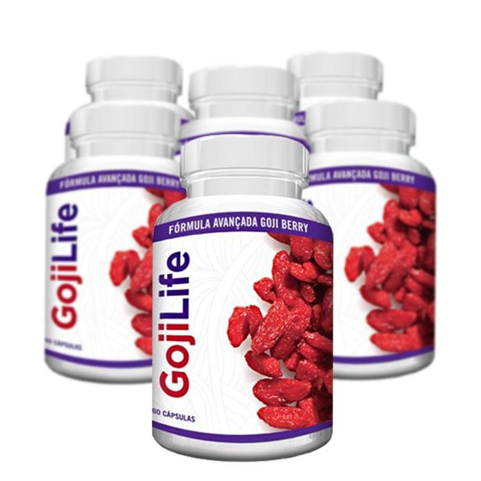 Goji Life 60 Cápsulas - Compre 4 e leve 6  - Composto Natural