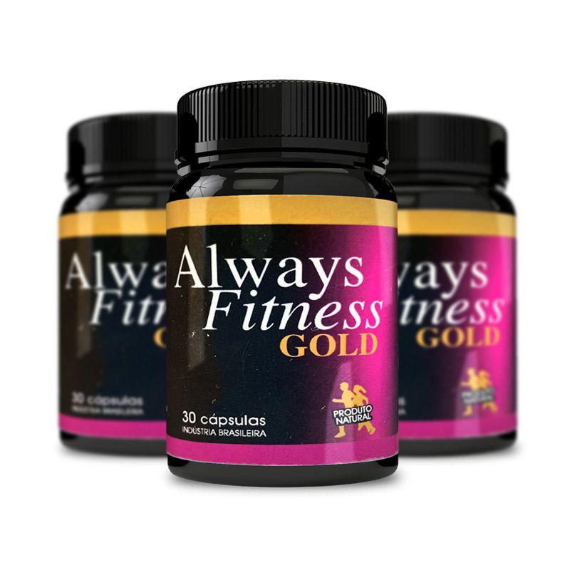 Always Fitness Gold 30 Cápsulas 3 Potes