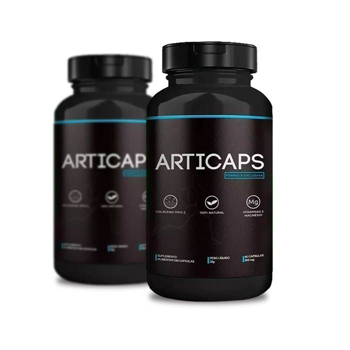 Articaps 30 Caps 2 Potes  - Composto Natural