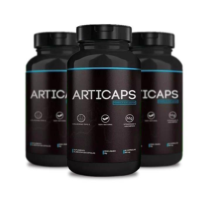 Articaps 30 Caps 3 Potes  - Composto Natural