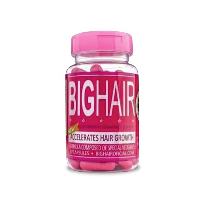 Big Hair 30 Cápsulas  - Composto Natural