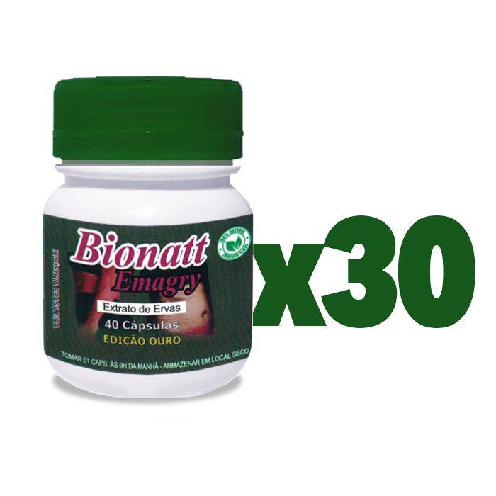 Bionatti Emagry 40 Cápsulas 30 Potes